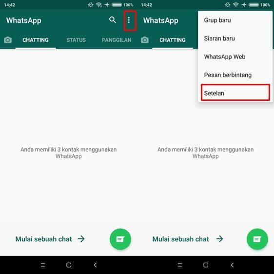 Cara membuat Foto Whatsapp Tidak Tersimpan Otomatis di Galeri Hp