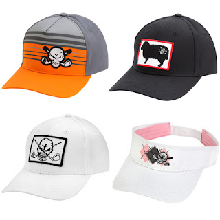 four new adjustable golf hats and golf visors from tattoo golf clothing 46e2bdfd437f
