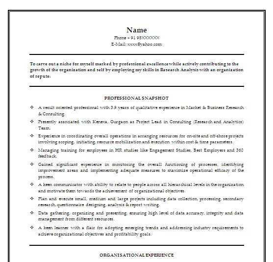 Data Modeler Resume: Analytics Professionals : Free Resume Templates