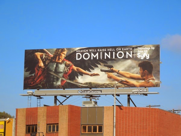 Dominion series launch billboard
