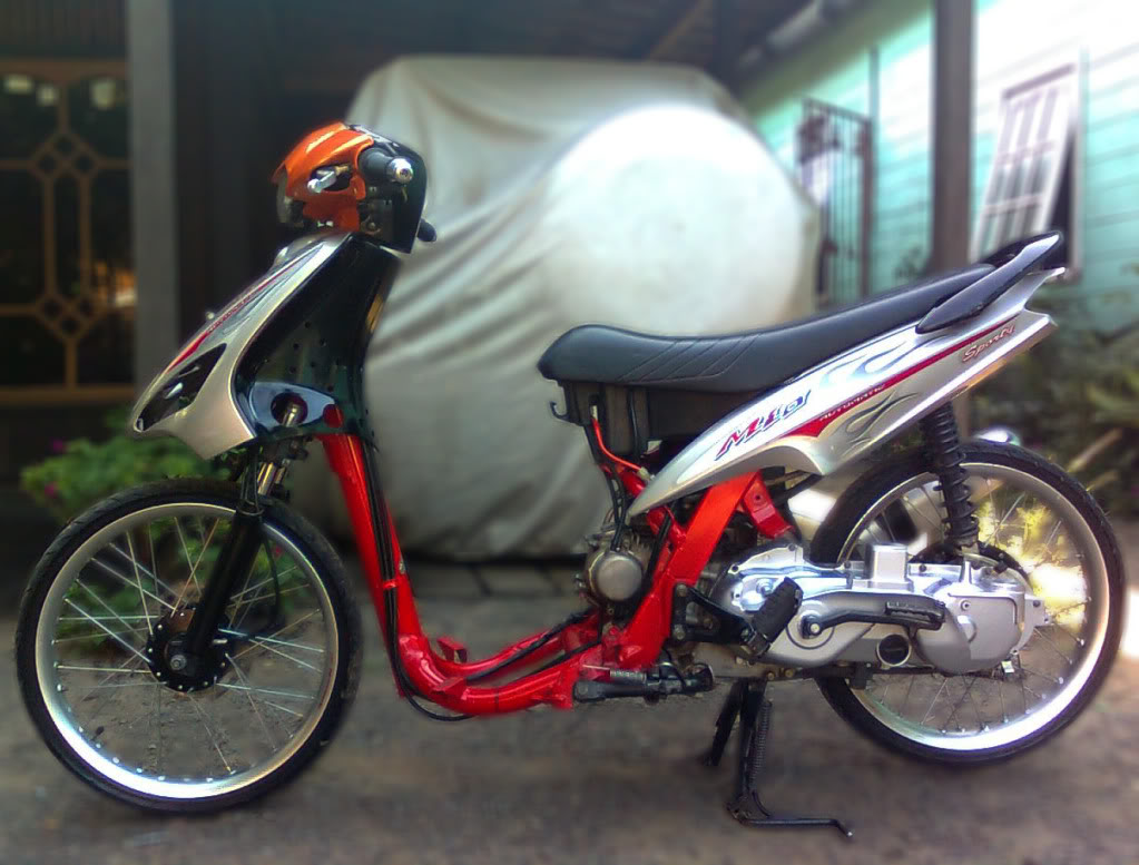 modifikasi mio sporty pelek 17 terkeren