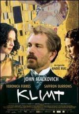 """Carátula del DVD: """"Klimt"""""""