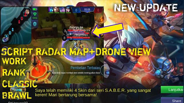 Script radar map+drone view premium