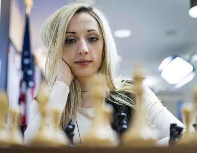 Départ moyen pour la tenante du titre 2016, Nazi Paikidze avec 1,5 point sur 3 aux championnats d'échecs des USA 2017