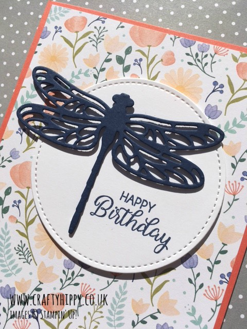 Make a simple dragonfly card
