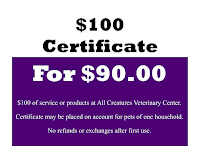 All Creatures Gift Certificates