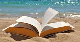Resultado de imagem para livros na praia