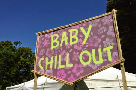 baby chill out zone camp bestival