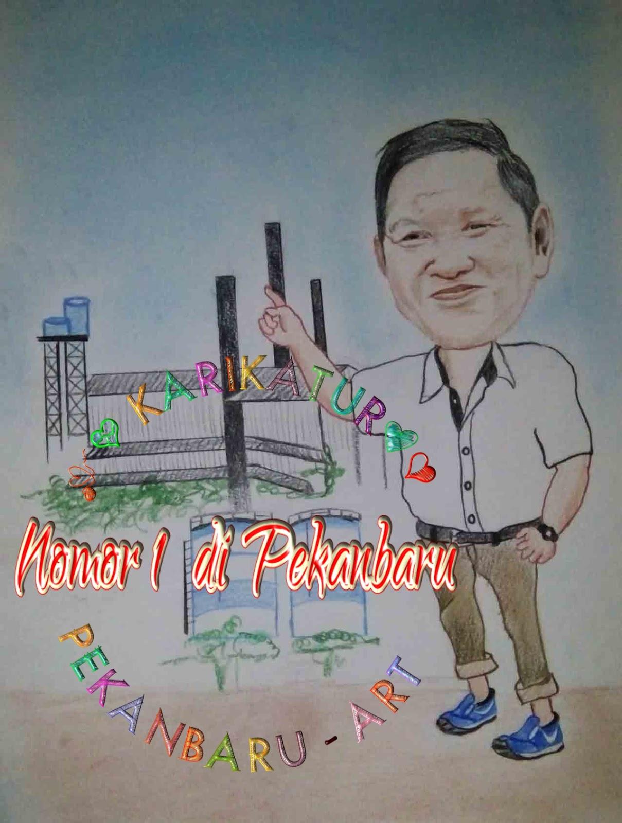 Seniman Melayu Riau Jasa Karikatur Di Pekanbaru Riau