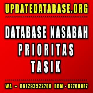 Jual Database Nasabah Tasik