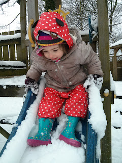 eldest in snow