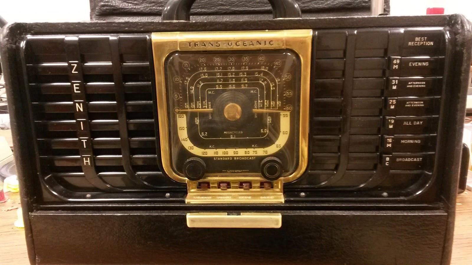 Robert's Projects 1948 Zenith Transoceanic Radio. 1948 Zenith Transoceanic Radio. Wiring. Zenith Trans Oceanic Tube Radio Schematics At Scoala.co