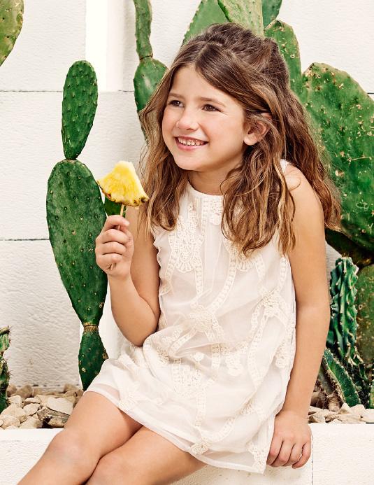 Vestidos para niñas primavera verano 2018 Paula Cahen D'Anvers Niños.