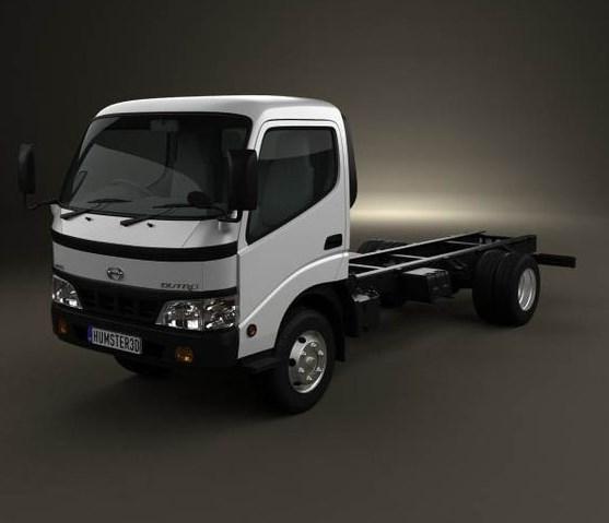 gambar truk hino dutro 3d spesial