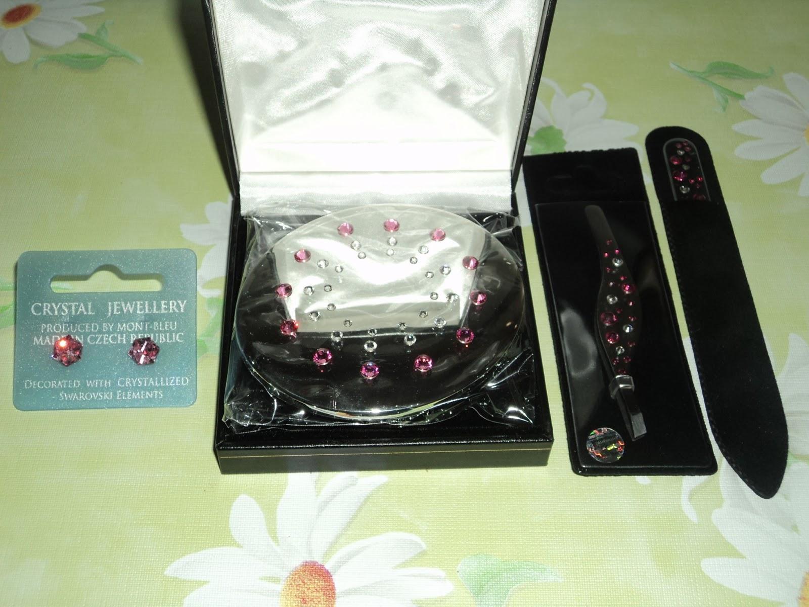 275dca6d7edf Lima de cristal decorada con cristales de Swarovski
