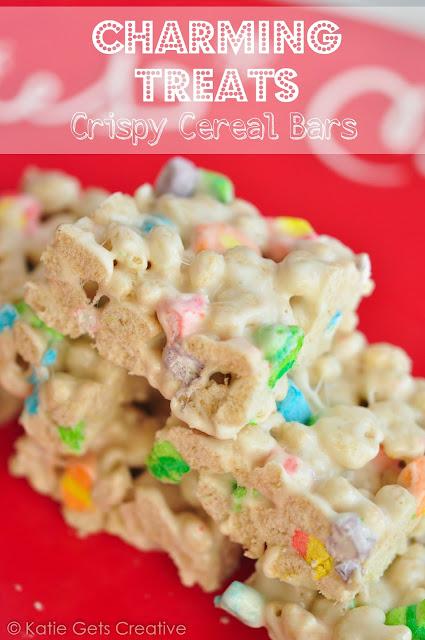 Charming Treats Crispy Cereal Bars