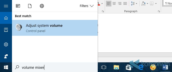 volume vlc turun
