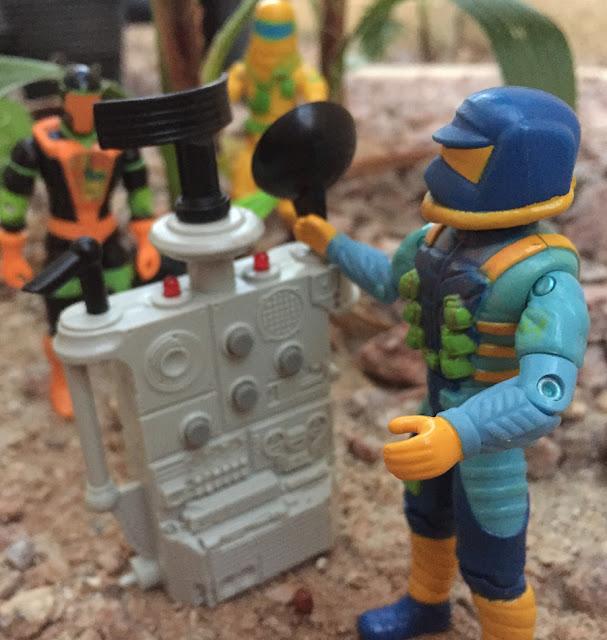 1991 Eco Warriors, Ozone, Countdown, Outback, 1993, Star Brigade, 1991 BAT, Battle Android Trooper, tracker, Clean Sweep, Mercer