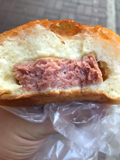 A-1 Bakery, luncheon meat bun