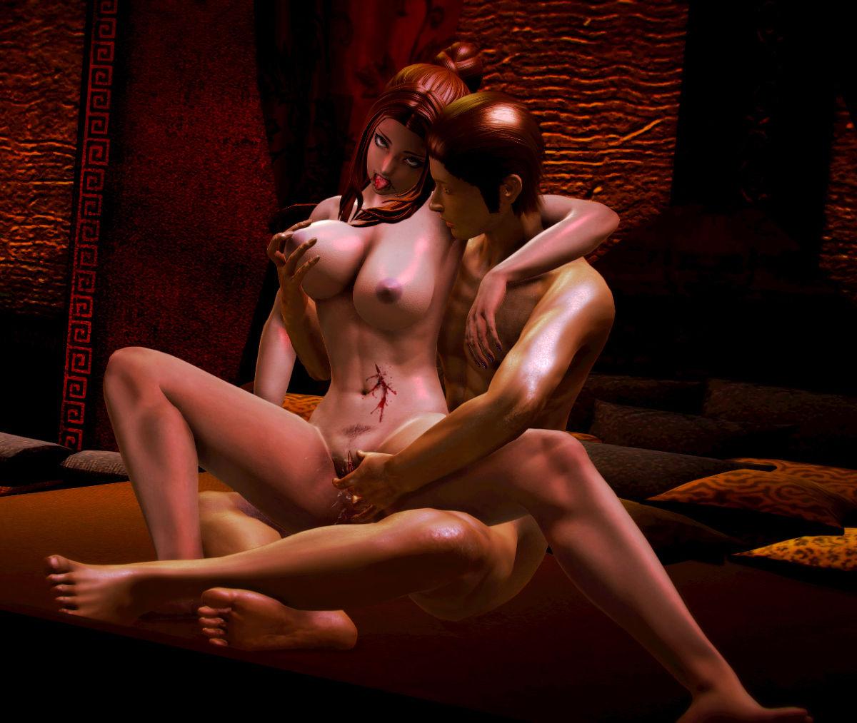 Hình ảnh 098 in Truyện Hentai 3D Nữ chiến binh Ryona