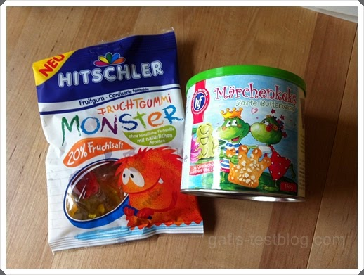 HITSCHLER Fruchtgummi Monster und Hans Freitag Märchenkekse