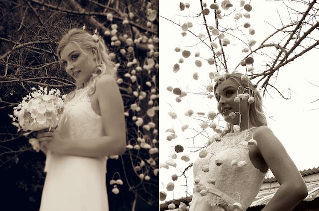 Ghirlande luminose e allestimenti di fiori di carta per matrimonio , vetrine . Roma