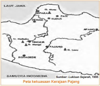 Daerah Kekuasaan Kerajaan Pajang
