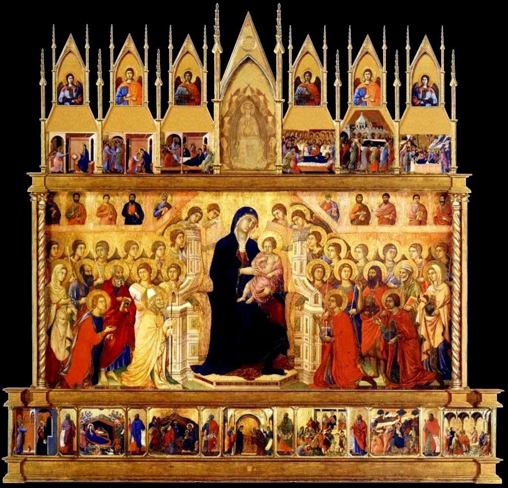 Duccio – Maestà [1308]