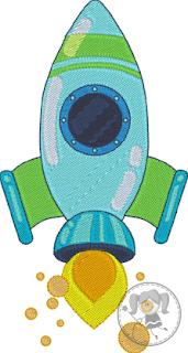 motif gratuit de broderie machine fusée