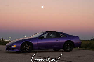 Purple Nissan 300Z Moonrise