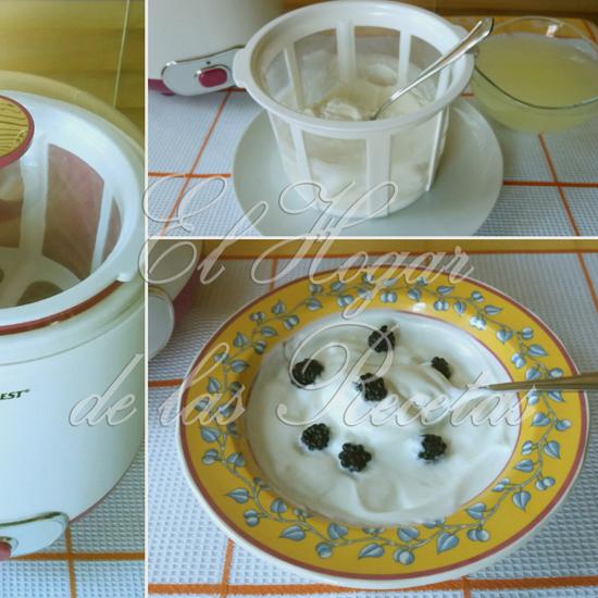 La Leche Presa es un postre de yogur al que se le quita el suero