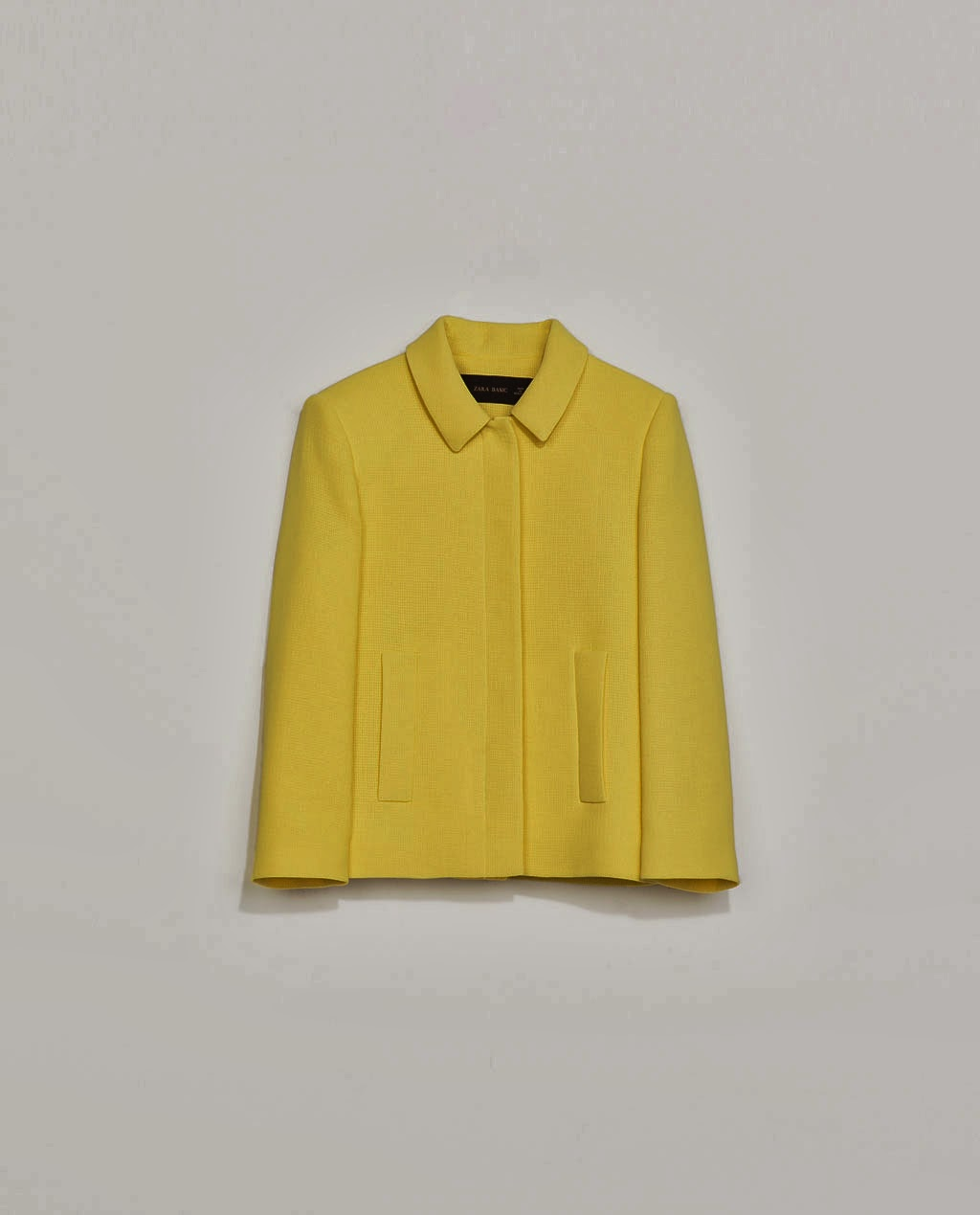 lemon drop Zara jacket