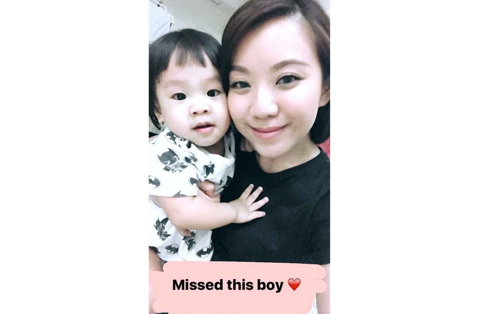 99811cd70c Obligatory baby-mama Instagram Stories selfie and video time each night I  come home from work. Each time he sees me walk through the door