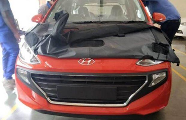 All-New 2018 Hyundai Santro front Bumper image