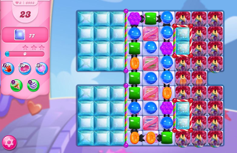 Candy Crush Saga level 6992