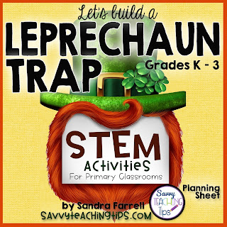 Our favorite leprechaun trap ideas and a free printable STEM planning sheet for kids.