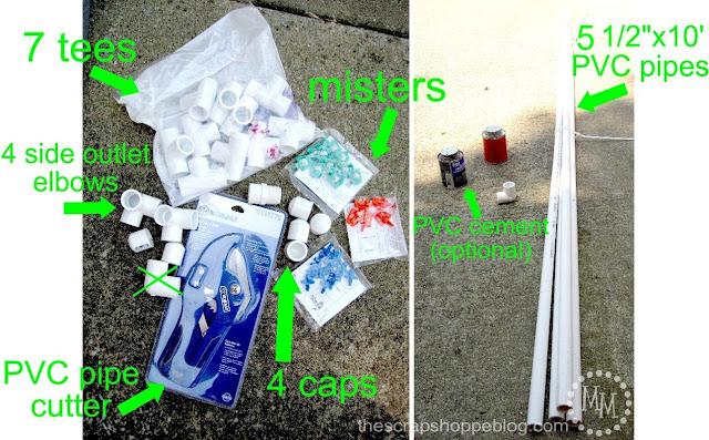BEST PVC Pipe Car Wash Tutorial Supplies