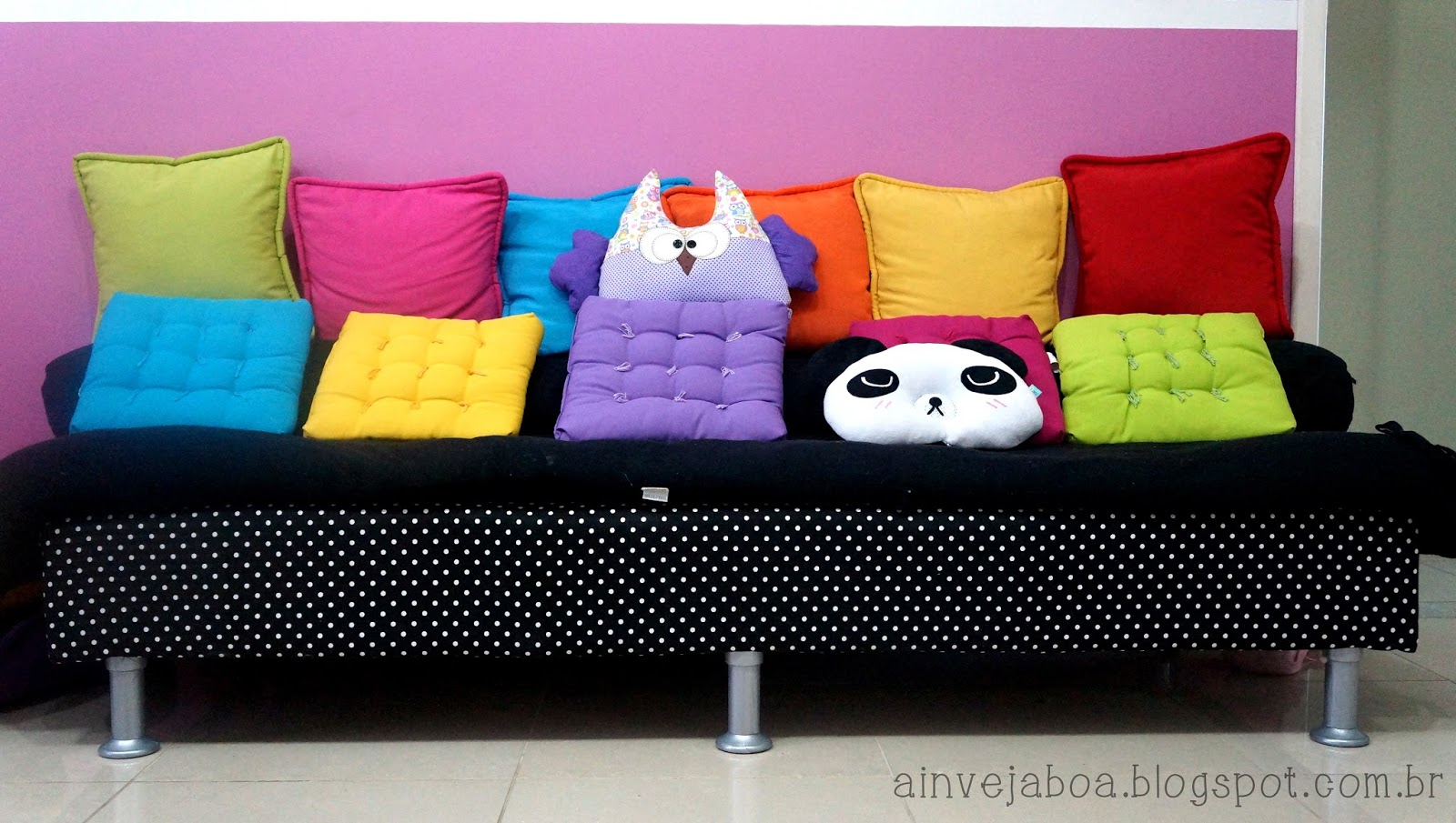 sofa e colchao osasco well full leather beige set ottoman inveja boa diy transforme qualquer ambiente de forma simples