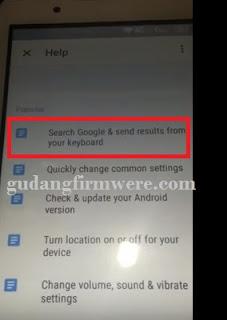 FRP Lenovo A1000 Verifkasi Akun Google