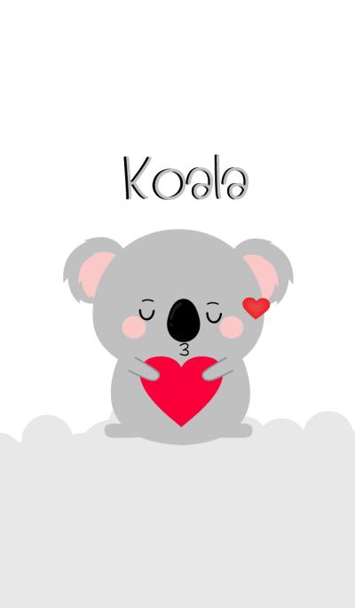Simple Lovely Koala