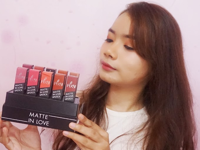 Review Pixy Matte In Love - All Color
