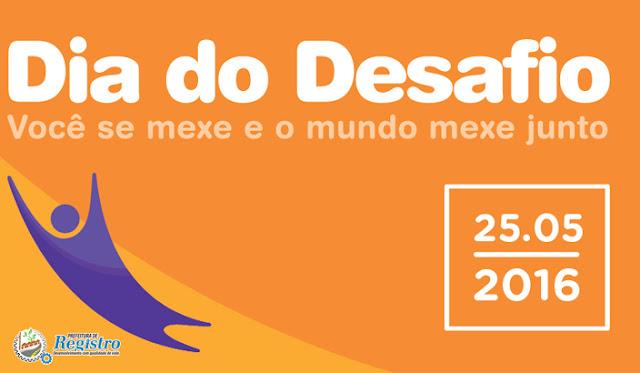 Dia do Desafio terá programação repleta de atividades esportivas em Registro-SP
