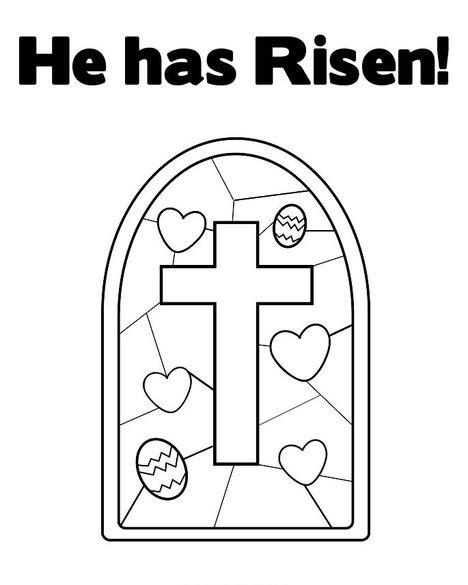 Free Coloring Pages: Jesus Has Risen Coloring Pages