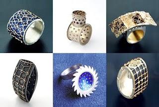 Diseño de anillo muy creativo e inusual
