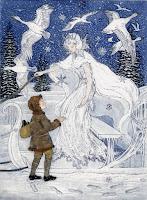 βασίλισσα του χιονιου κείμενο