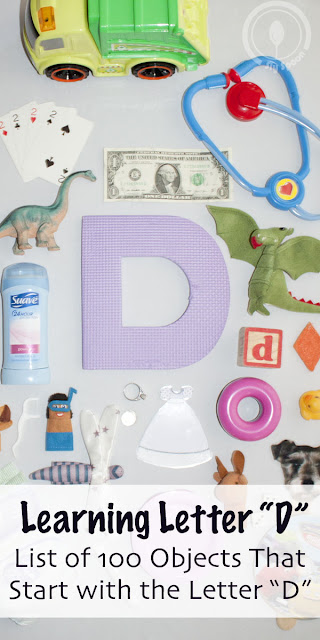 Big list of objects that start with letter D