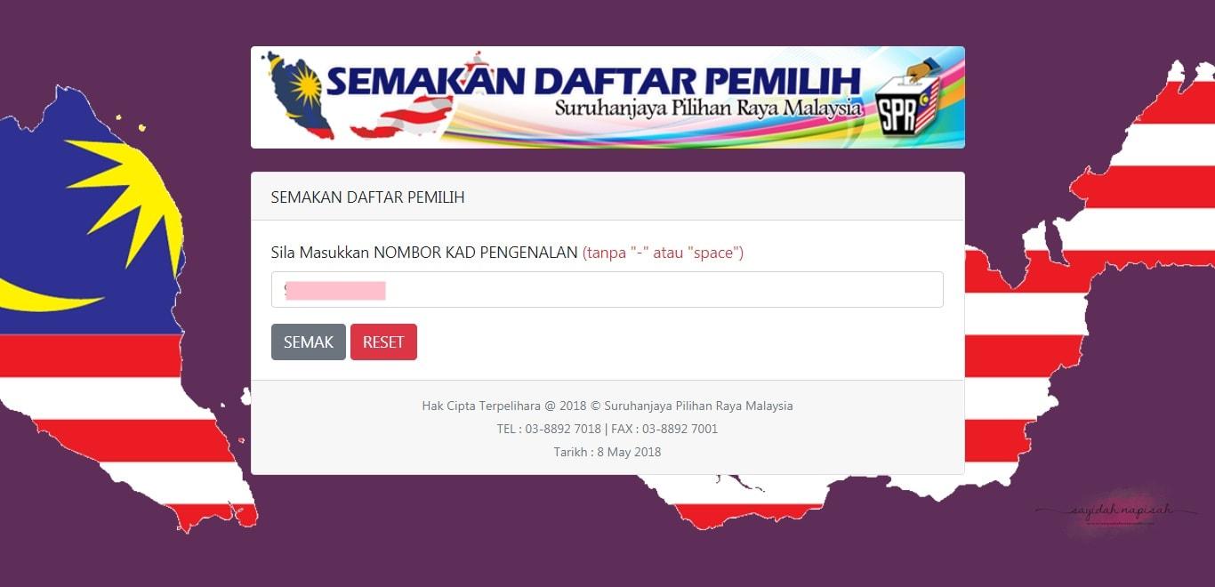 Jom Semak Calon Bertanding DUN & Parlimen Pilihan Raya 2018! (PRU14)