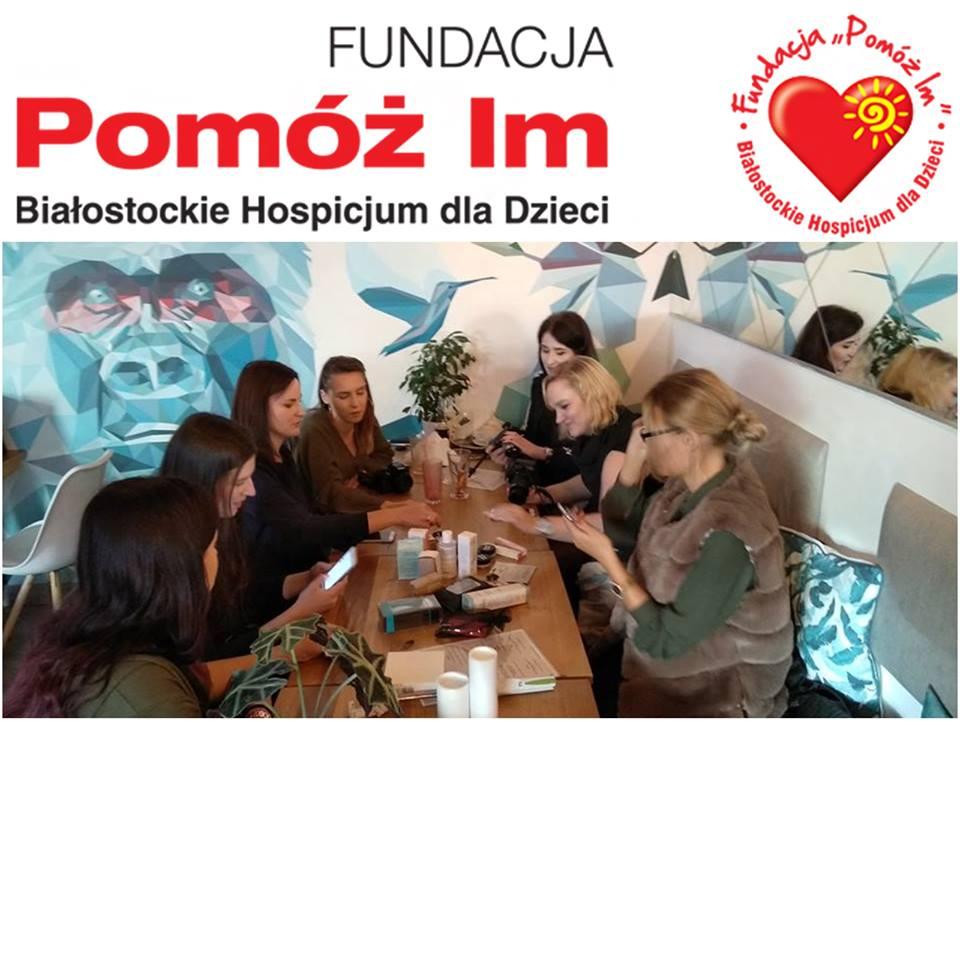 Naturalnie piękne - spotkanie blogerek w Białymstoku i zbiórka pieniędzy