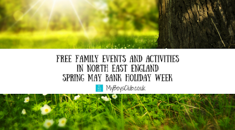 Free Family Events and Activities In North East England During Spring May Bank Holiday Week