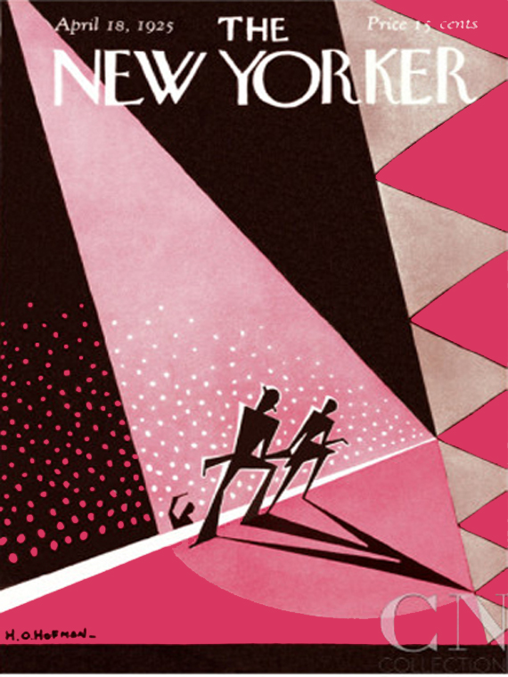 The New Yorker april 1925 cover